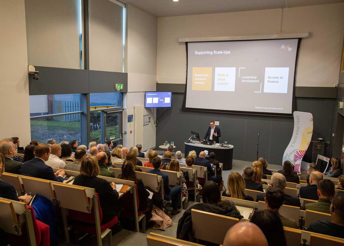 Michael Banford presenting to Ambassadors